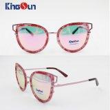 Form-Sonnenbrillen für Weibchen oder Dame Plastic Rim Ks1155