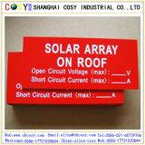 1,3 mm ABS couleur double le carton utilisé pour comme pancarte