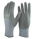 15 Индикатор нейлон и спандекс гильзы 3/4 нитриловые перчатки с покрытием