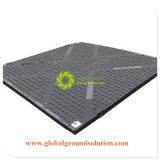 PE 100% Recycled/UHMWPE/HDPE 물자 임시 도로 격판덮개