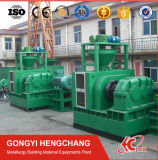 El tornillo de alimentación forzada de polvo de carbón de la presión de los aglomerados de la máquina