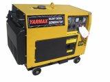 Yarmax 6kVA -7kVAの携帯用無声タイプディーゼル発電機の経済的なホーム使用