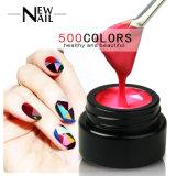 500 de couleur Couleur Nail art créatif Sculpture UV Gel 3D