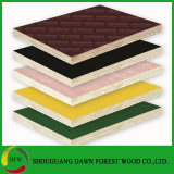 木製の穀物カラーおよび無地のメラミンは合板に直面した
