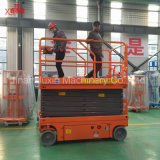 6-18m Scissor hydraulische kleine Plattform der elektrischen Batterie-300kg Aufzug mit Fabrik-direktem Verkaufspreis