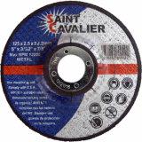 Rodas lisas da estaca para o metal - 125X3.0X22.2