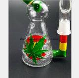 De kleurrijke Pijp van het Glas van de Vogel van de Ambacht van Bladeren