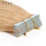"""インドの直毛倍によって引かれたテープ毛の拡張20PCS 27#皮のWeft人間の毛髪機械は作ったRemyの毛16に"""" 18 """" 20 """" 22 """" 24 """"を"""