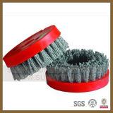 """4 """" Brosse ronde Abrasives Diamant pour le polissage Stone tuile en porcelaine"""