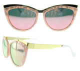 Cor brilhante por atacado chinesa óculos de sol polarizados do olho de gato dos vidros de Sun