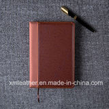 A5 Business Office Organizer Leather Notebook, Leather Diary for Gift