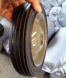 7inch luftloses und aufblasbares Gummi-halb pneumatisches Luftverdichter-Rad