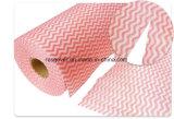 Wipes di pulizia di Spunlace/panno di pulizia non tessuti