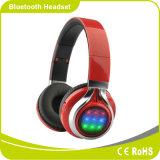 Cuffia pieghevole di Bluetooth LED dell'istantaneo comodo stereo di illuminazione di Smartphone