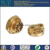 ISO9001 en SGS Verklaarde Koper die van het Messing Delen machinaal bewerken