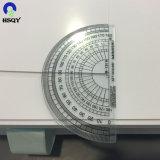 0.3mmのオフセット印刷のための光沢のある光沢のある白PVCシート