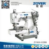 Zoyer Pegasus Cilindro Bed piatto macchina per cucire di interblocco (ZY600-02BB)