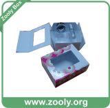 Stijf Karton die het Vakje van de Gift/het Afgedrukte Kosmetische Vouwbare Vakje van het Document vouwen
