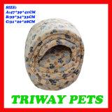 Bâtis de corail confortables mous de chat de velours (WY1610111-2A/C)