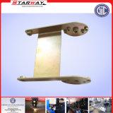 Подгонянная стальная часть машинного оборудования с покрытием порошка заварки вырезывания лазера