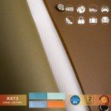 Cuoio del Faux del PVC del cuoio 2018 di Jinxin più nuovo per il sacchetto, coperchio stabilito dell'automobile, pattino Ect