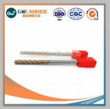 Extremidade de corte de carboneto sólido CNC Mills Tools