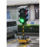 semaforo solare portatile verde rosso dell'indicatore luminoso giallo LED di 300mm