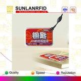 Bon prix personnalisé Étiquette imperméable à l'épreuve de la gelée RFID Étiquette Epoxy NFC