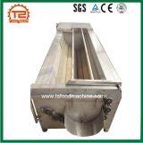 Nettoyage des légumes de l'équipement industriel U-Shape Gingembre Machine à laver et peler