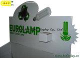 Энергосберегающие лампы Картонная покрытие дисплея, бумага дисплей (B & C-A008)