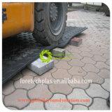 [ب] بلاستيكيّة /HDPE/UHMWPE مؤقّت طريق حصير لأنّ تجهيز/شاحنة/يحفر