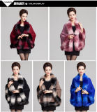 Lady Fashion Space Dyed Faux Fur Winter Shitted (YKY4466-1)