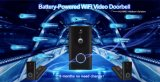 Segurança sem fios WiFi inteligente inteligente Dingdong som de campainha de câmera de vídeo