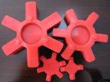 L tapent le couplage d'unité centrale, couplage en caoutchouc avec la couleur rouge