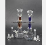 Mehrfarbentorsion-Glaspfeife des Baum-2-Layer des Filters