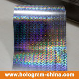 Silbriges goldenes Hologramm-heiße stempelnde Folie