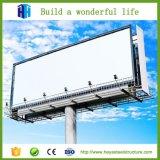 Projeto ao ar livre da vertente do quadro de avisos da propaganda da construção da construção de aço