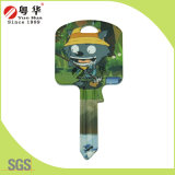 Gifts를 위한 공장 Price Hot Sales Custom Colorful Fashion Metal Art Blank Key
