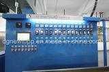 Tipo automático máquina física del feedback de la protuberancia de cable que hace espuma