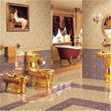 تصميم جديد K الذهبية بلورة مكروية حجر بلاط البورسلين (JK8305C2)