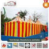 Qualitäteinfaches hohes Gazebo-Zelt mit farbigem Dach-Deckel