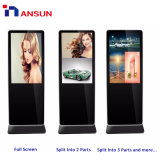 Жк-дисплей мультимедийной сети USB плеер цифровую рекламу