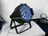 1개의 LED 동위 빛에 대하여 실내 사용 IP 20 18X10W RGBW 4