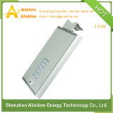15W 제조자 직매 30W는 1개의 태양 LED 가로등에서 모두를 통합했다
