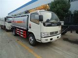 Caminhão de tanque pequeno móvel do petróleo do combustível Tanker/95HP de DFAC 5000L