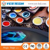 Alquiler de interiores en Color de Pared LED de alta definición para la etapa, la publicidad