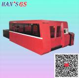Kohlenstoffstahl-Platten-Faser-Laser-Ausschnitt-Maschine des Edelstahl-500With3000W für Verkauf