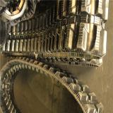 Het RubberSpoor van het mini-graafwerktuig met de Breedte van 250mm (E250*72*34)