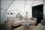 Tenda di alluminio impermeabile di evento della festa nuziale del blocco per grafici del PVC di grande bianco