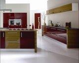 Cabinet de cuisine brillant en contreplaqué (zhuv)